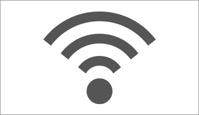 全客室に無線LAN(Wi-Fi)および有線LANをご用意