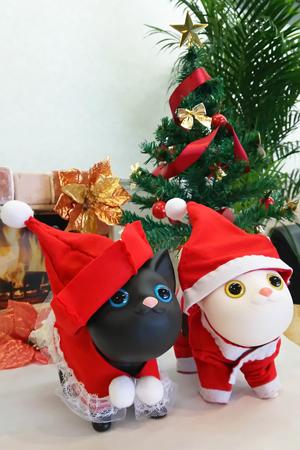 ネコさん広場のクリスマス